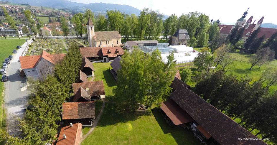 Steirisches Freilichtmuseum, Hofformen Steiermark, Vorau Museum, Freilichtmuseum bei Stift Vorau