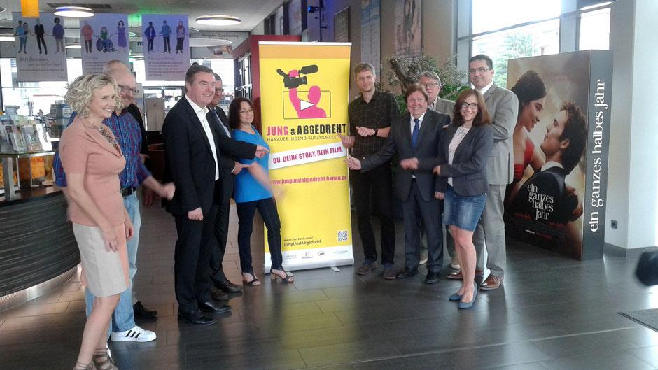 Pressekonferenz Jugendfilmfestival Jung & Abgedreht