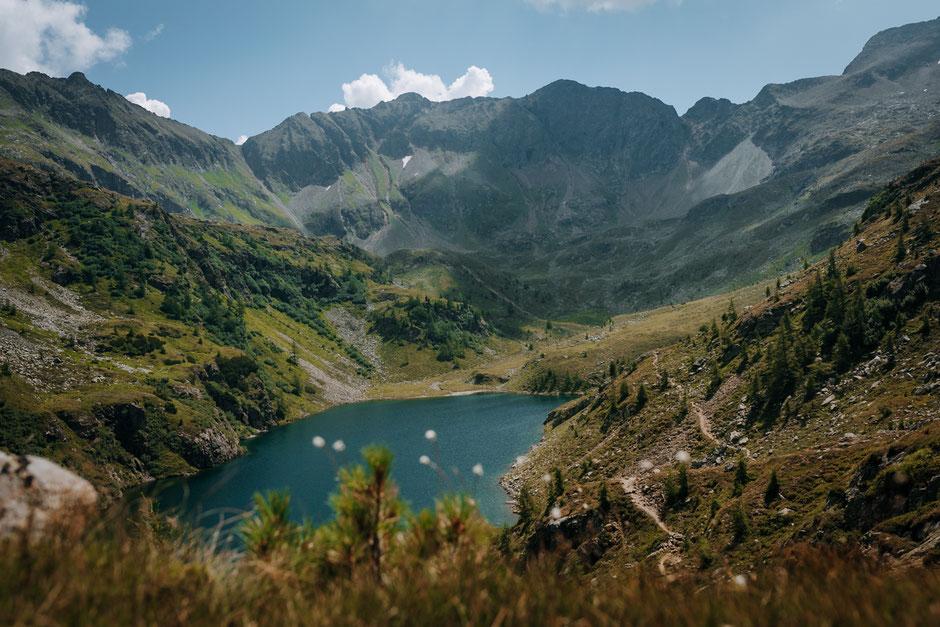 MittlererLandschitzsee-Wandern-Lungau-Lessachtal-Landschitzseen-Österreich