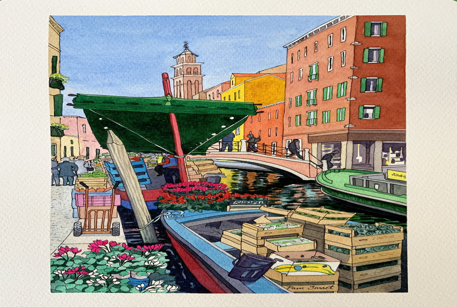regents park garden landscape art