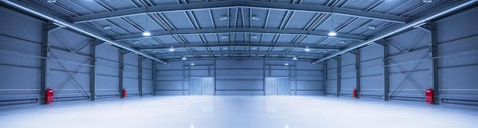 Zubehör für Lagerzelte, Lagerhallen und Leichtbauhallen