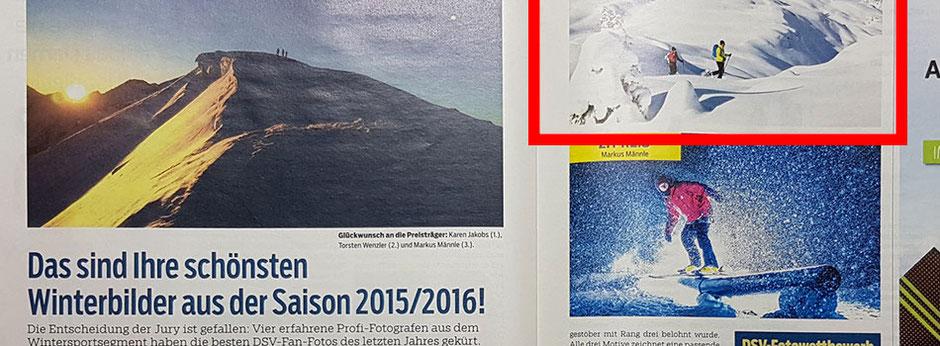 Fotowettbewerb vom DSV Skimagazin