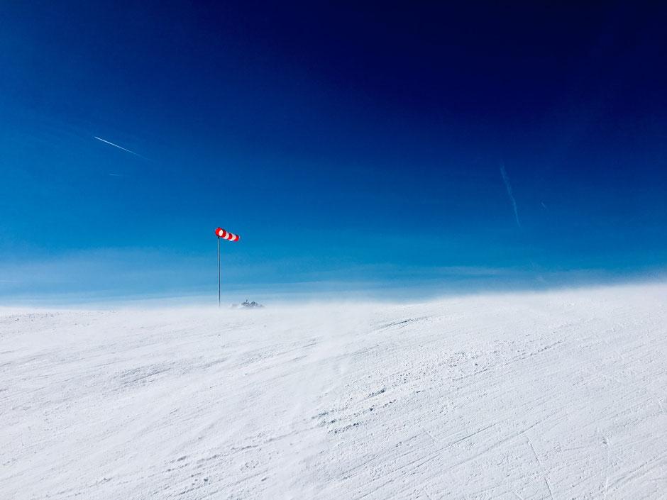 Skifahren am Hahnenkamm / Österreich