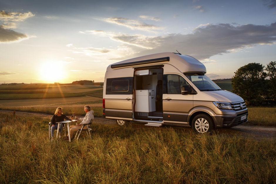 Volkswagen California Ocean Camper: Schweizer Alpen