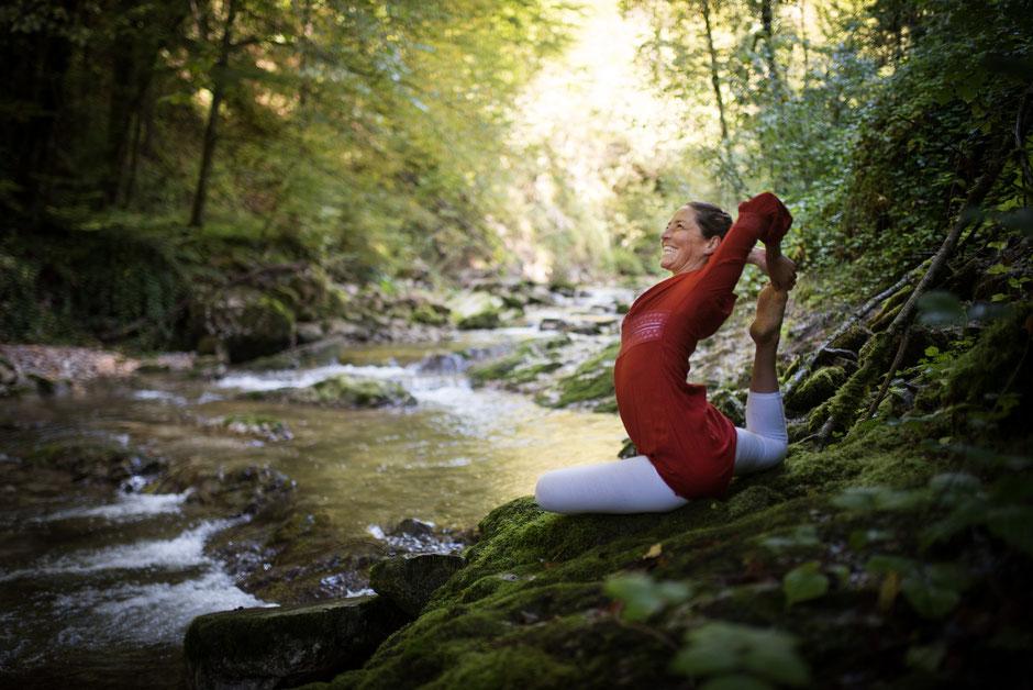 PR Bild für Yogalehrerin & Ergotherapeutin Gabi Innerhofer aus Salzburg - 2017