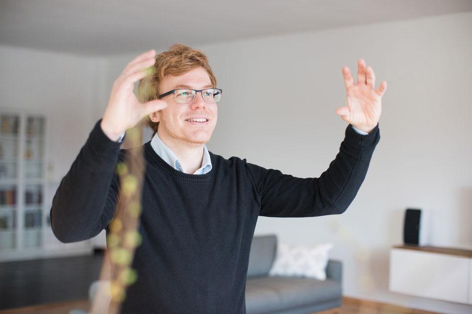 """PR Portrait für Martin Spitzenberg """"Digitales Projektmanagement"""""""