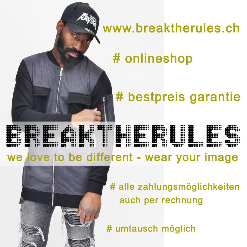 Breaktherules ist der neue Multibrand Onlineshop der Baselisbeautiful AG Steinenvorstadt 4 4051 Basel