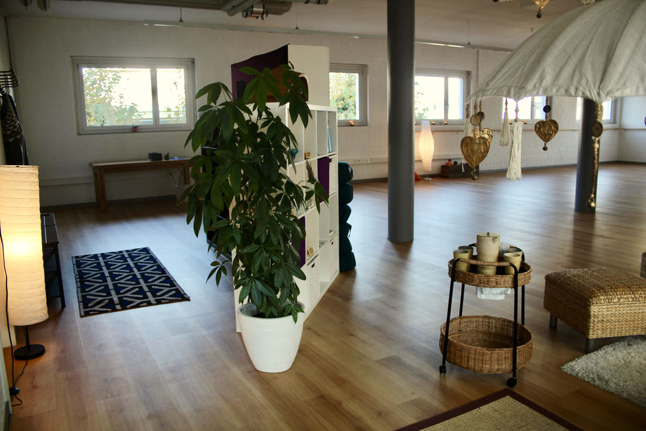 Wohlfühlzeit Studio, Yoga Studio, Yoga, Nottwil, Sempachersee, Cantienica Methode, Yoga Privatlektionen, Thai Yoga Massage, Therapieraum