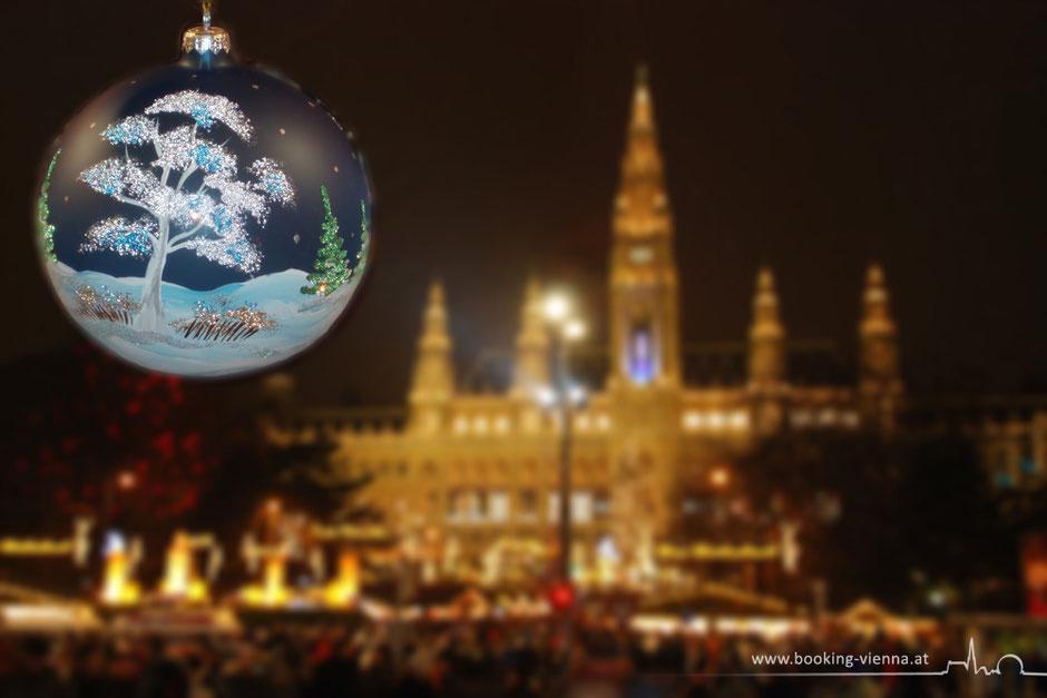 Wiener Christkindlmarkt Rathaus City Zentrum Hotel Vienna buchen booking günstig Nähe