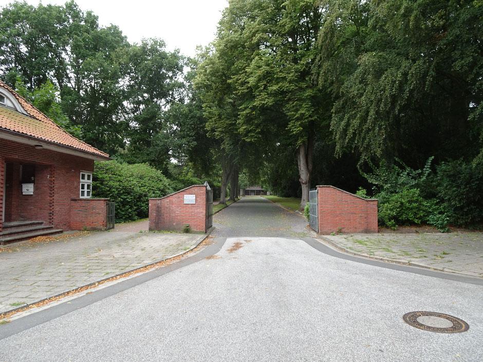 Friedhof Brockeswalde in Cuxhaven