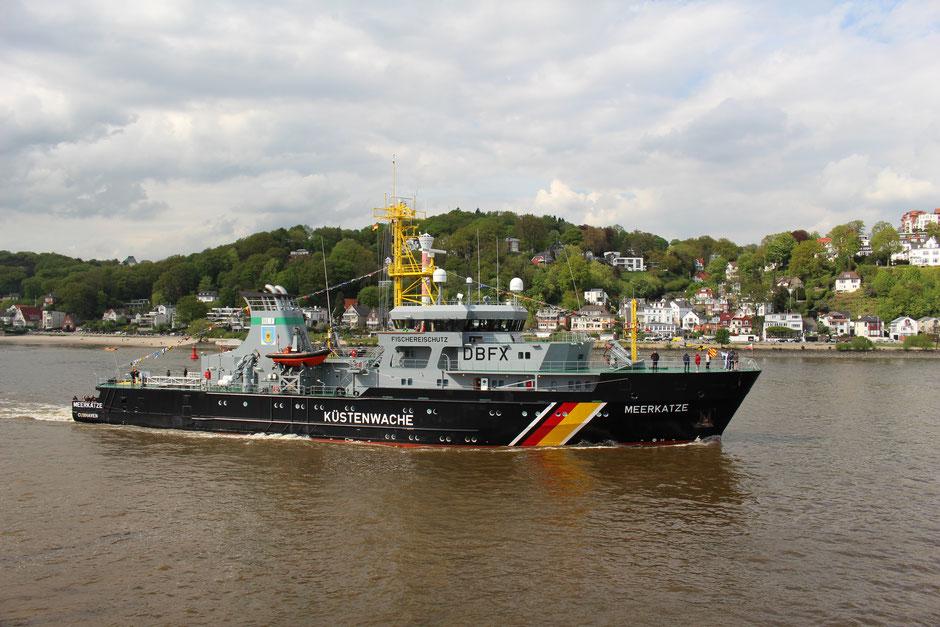 Hamburger Hafengeburtstag 2015: Fischereischutzboot Meerkatze