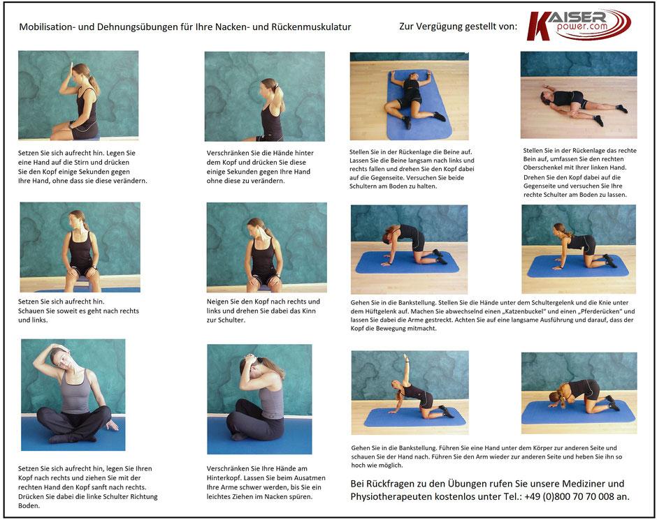Übungen gegen Rückenschmerzen, Vibrationsplatten