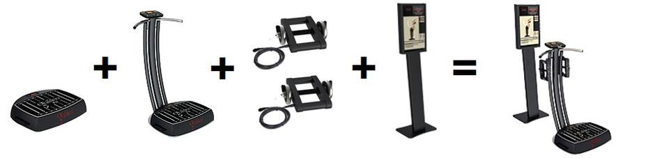 Vibrationsplatte Galileo Fit Chip Extreme PT, Vibrationstrainer, Galileo Training, gebraucht, kaufen, Preise, Preis, Test, Vertrieb: www.kaiserpower.com