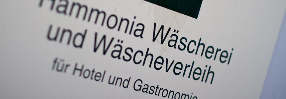 Wäscherei Wäscheverleih Hartwig Hammonia Hotel Bettwäsche Frottee Textil Tischwäsche Restaurant Gastronomie Leihwäsche Serviette Tischdecke Service Tischläufer Tischbänder professionell