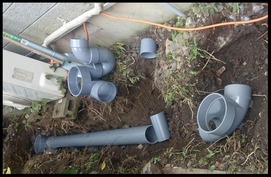 大阪・奈良で排水管新設工事・排水管工事・排水マス取替工事など、水道工事・水道修理・水のトラブルでお困りなら【水道便利屋さん】