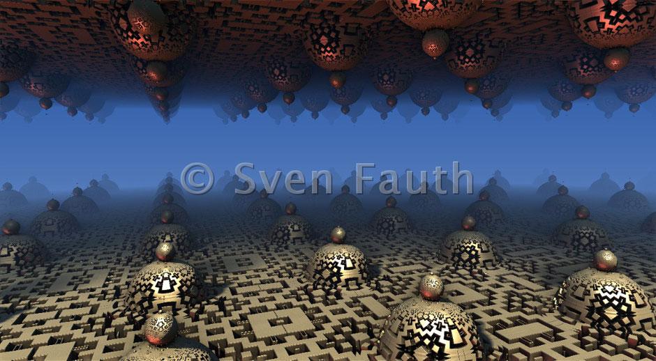 Sven Fauth - Fraktalkunst - Fraktale Festplatte