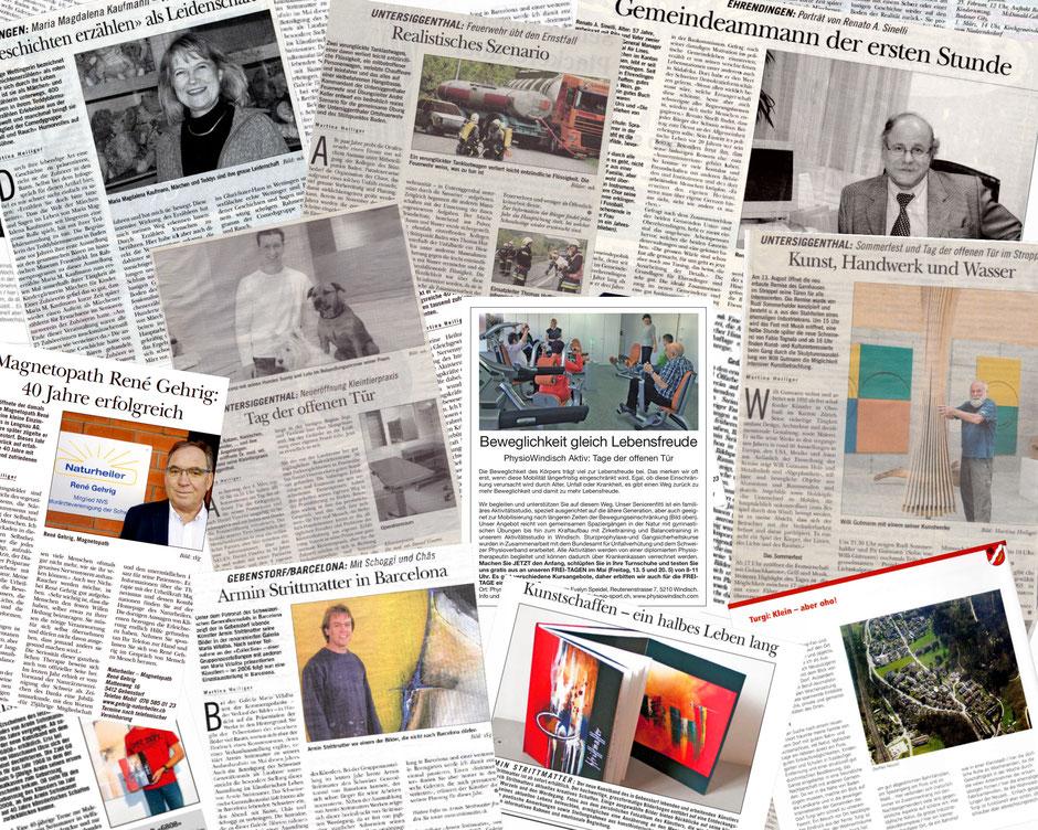 Zeitungsartikel Texte Zeitungen Werbung Marketing Webseite Homepage Annonce Inserat Worte Text Bericht Artikel Webcontent PR Text
