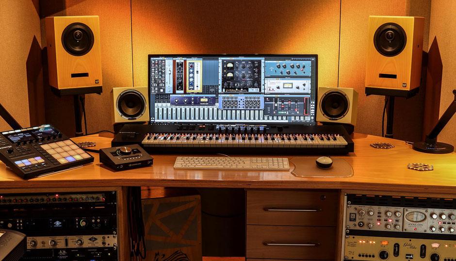 Dola Recording Tonstudio Apollo 8 Twin Avalon