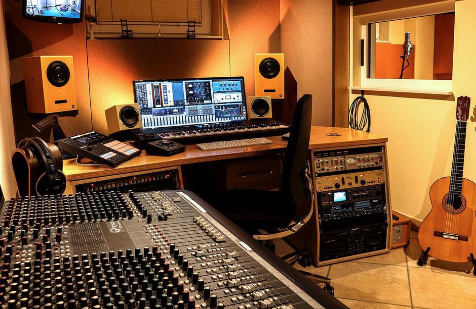 Musik Produktion Aufnahmen Recording Tonstudio