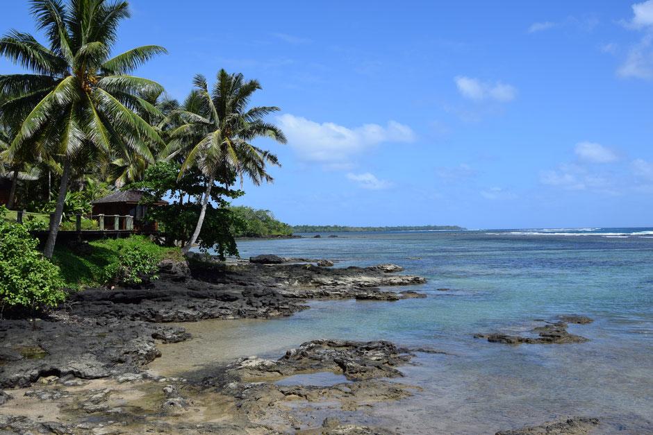 Bild: Strand in Samoa