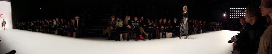Bild: Catwalk von Anja Gockel auf der Fashion Week Berlin