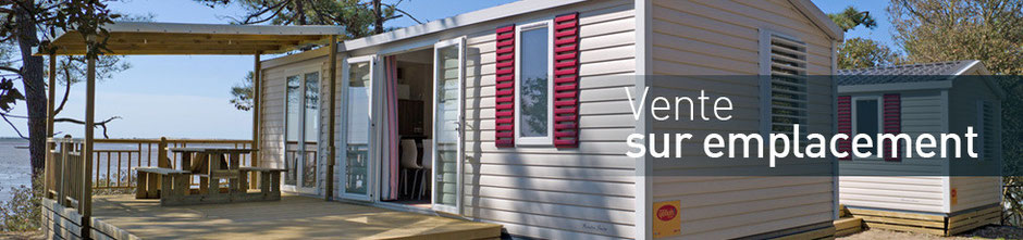 vente mobil home sur camping