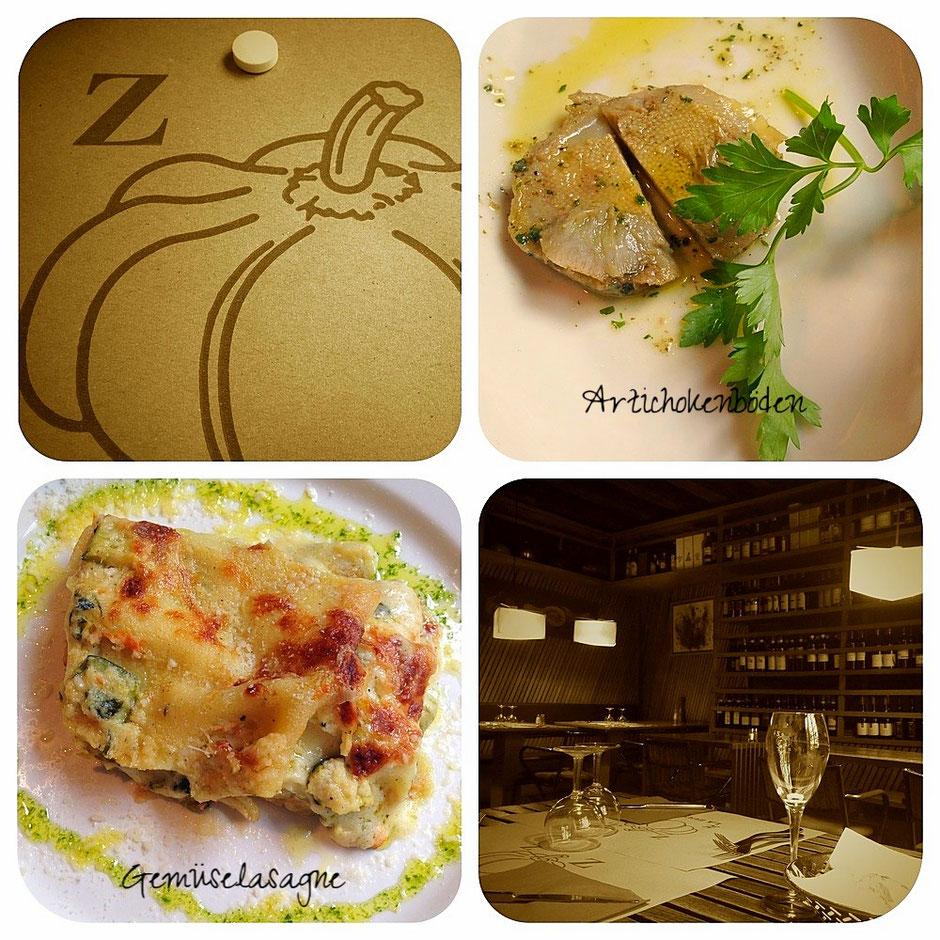 """Restaurant """"La Zucca"""" in Venedig"""