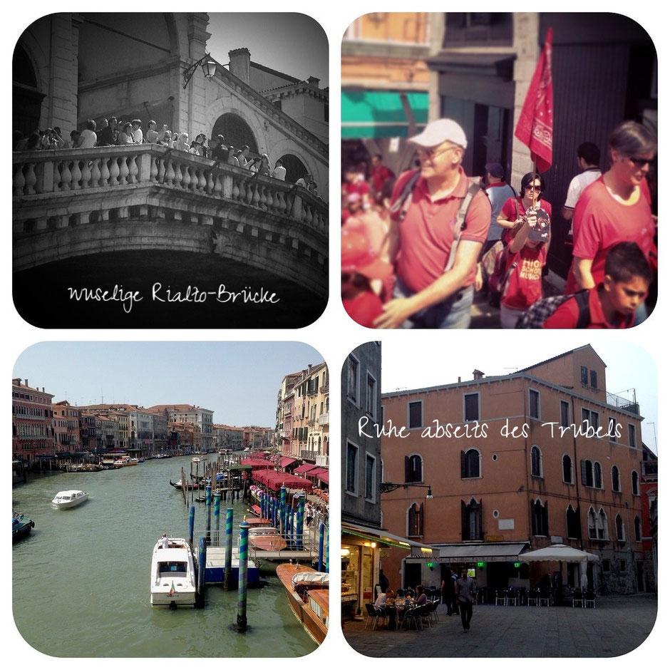 Venedig: Trubel und Ruhige Ecken