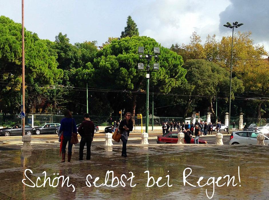 Lissabon - Lisboa - ist selbst bei Regen schön