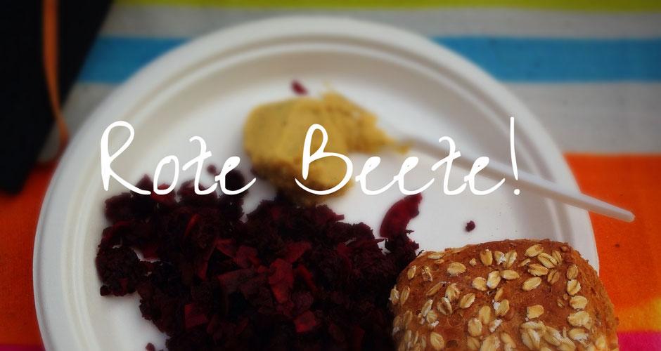 Rote Beete Salat mit Kokos