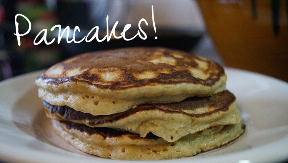 Bananen-Hafer-Pancakes