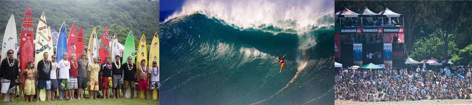 Hawaii - Eindrücke des Surfwettbewerbs