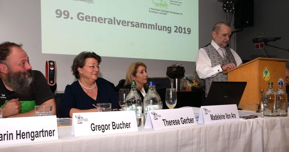 99. Generalversammlung 22.11.2019
