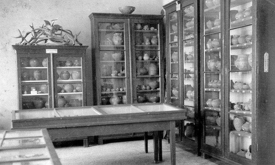 Alte ur- und frühgeschichtliche Schausammlung im Museum an der Inselstraße