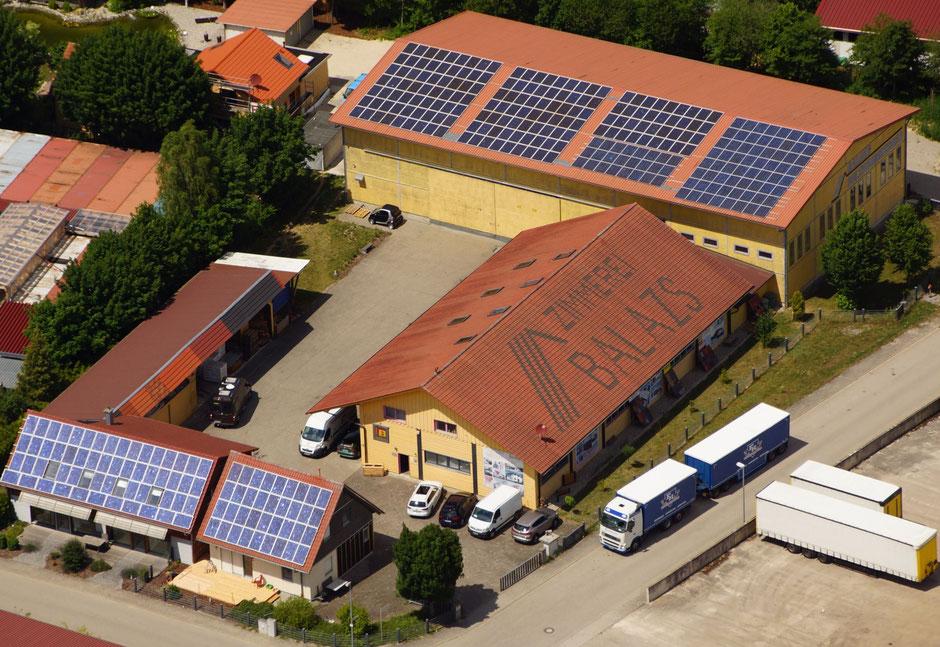 Zimmerei Florian Balazs Modulhaus Thomas Musterhaus B/Cube Röttenbach Industriestr. 9 91187 Massivhaus Holzhaus Magnumboard