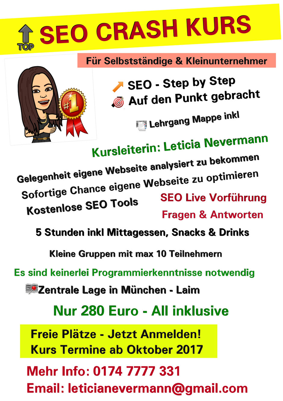 SEO Lernen in Muenchen