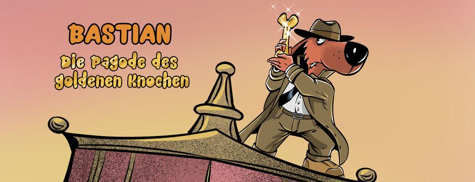 Bastian – Die Pagode des goldenen Knochen