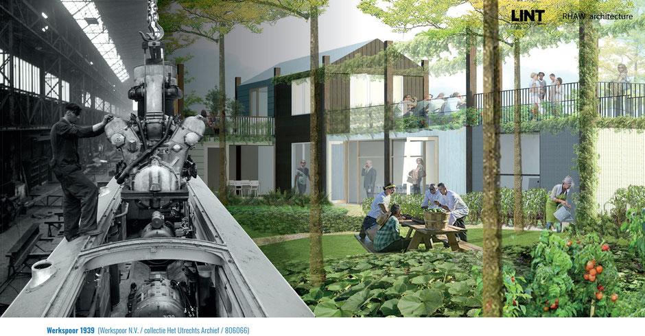 Beeld: Werkspoorkwartier: Creatief Circulair Maakgebied; efro-wsk.nl/