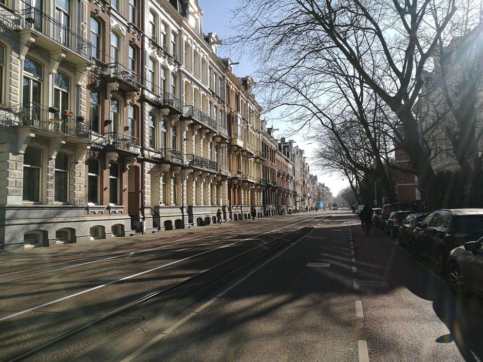 Amsterdam tijdens de lockdown. Foto: Peter Bijl