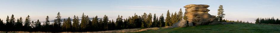 Teufelstein Panorama Foto