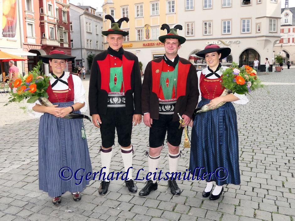 40jähriges Wiedergründungsfest der Gebirgsschützenkompanie Rosenheim Teil 1