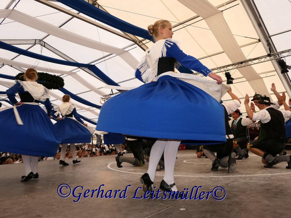 Ehrentänze, Inngaufest in Neubeuern