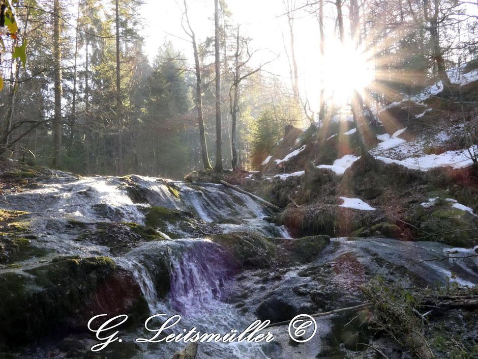 Samerberger Wasserfälle