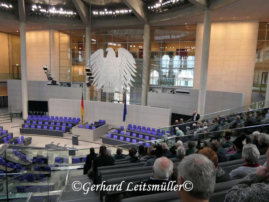 Besuch des Reichstages in Berlin