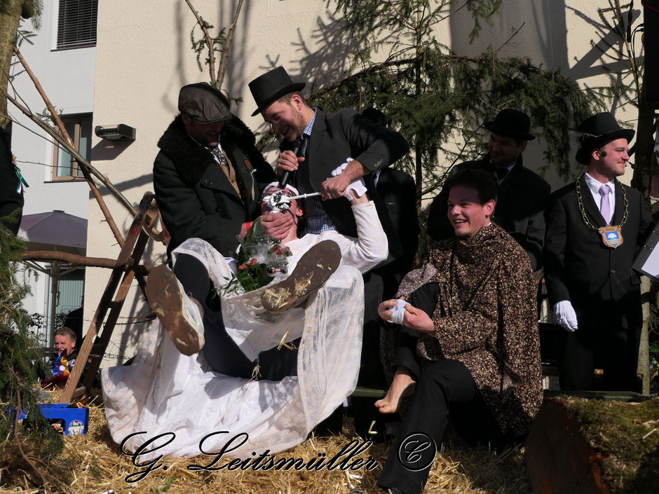 Bettelhochzeit in Bad Aibling
