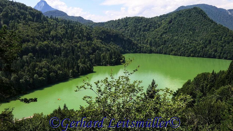 Wanderung mit Margit zum Eglsee