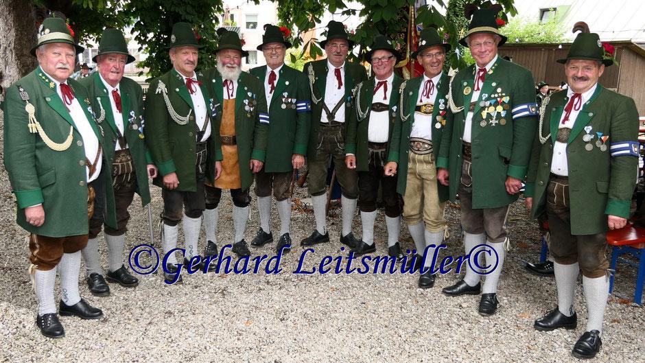 40jähriges Wiedergründungsfest der Gebirgsschützenkompanie Rosenheim Teil 2