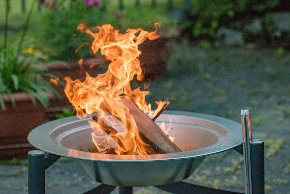 Heizsysteme für die Terrasse mit Feuerschale