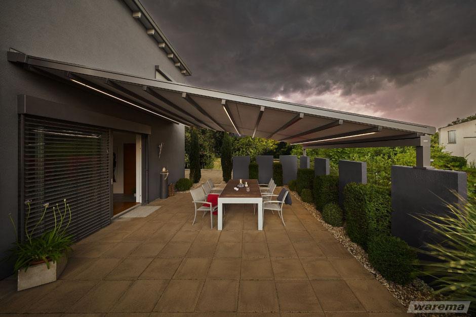 Sicht Sonnen und Regenschutz