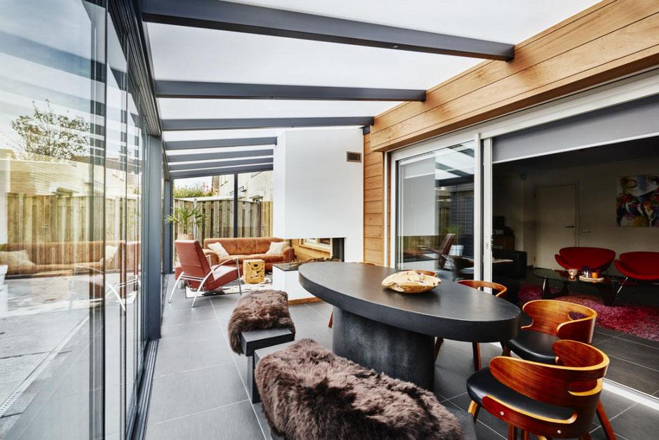 Teakholz Möbel für die Terrasse